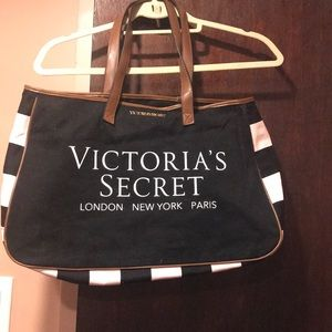 "Victoria's Secret tote 19"" wide 12"" long"